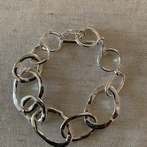 Organic Link Toggle Bracelet
